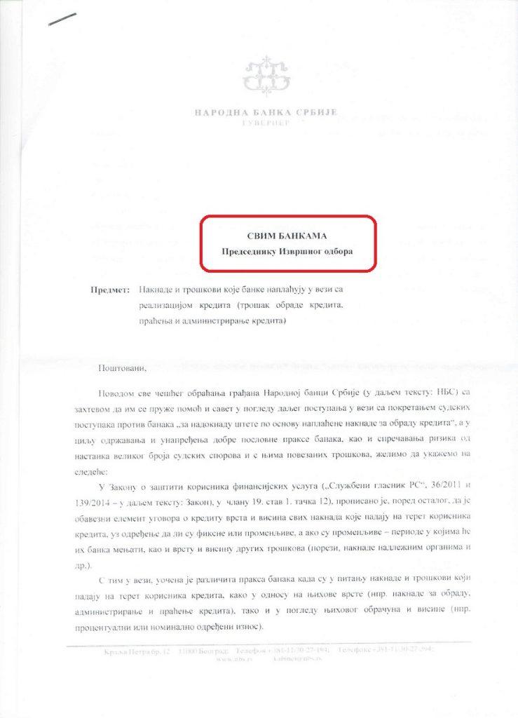 dopis NBS-A