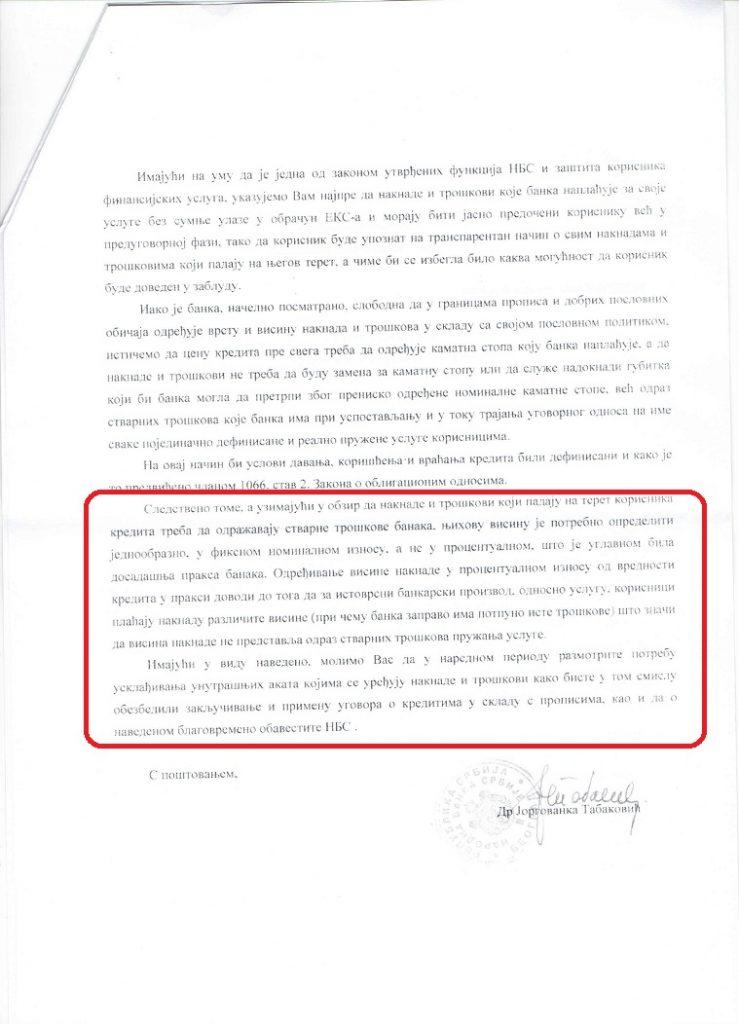 dopis NBS-A1