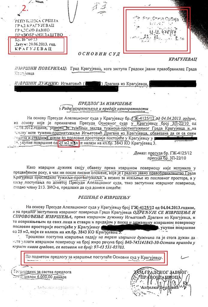 02 predlog za izvrsenje falsifikovani